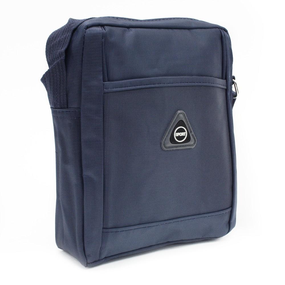 Modrá menší pánská crossbody taška Gershon