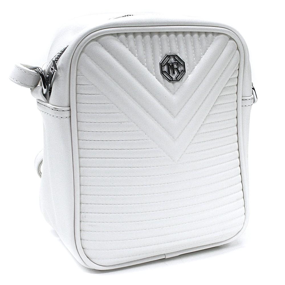 Bílá trendy crossbody dámská kabelka Cerise
