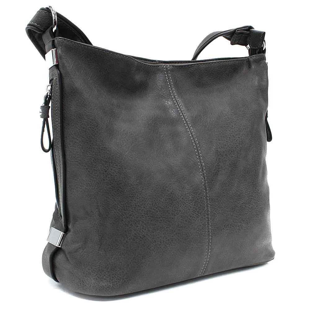 Šedá praktická dámská kabelka Sharnta