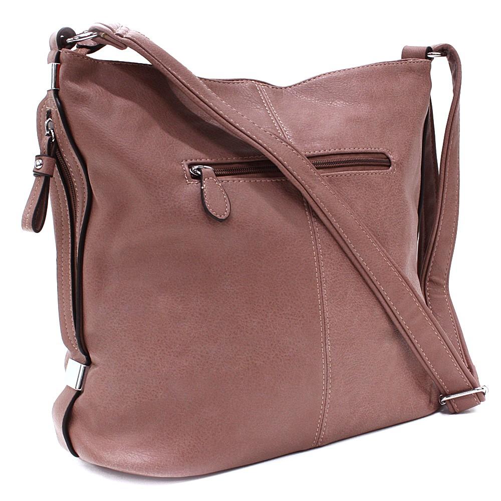 Fialová praktická dámská kabelka Sharnta