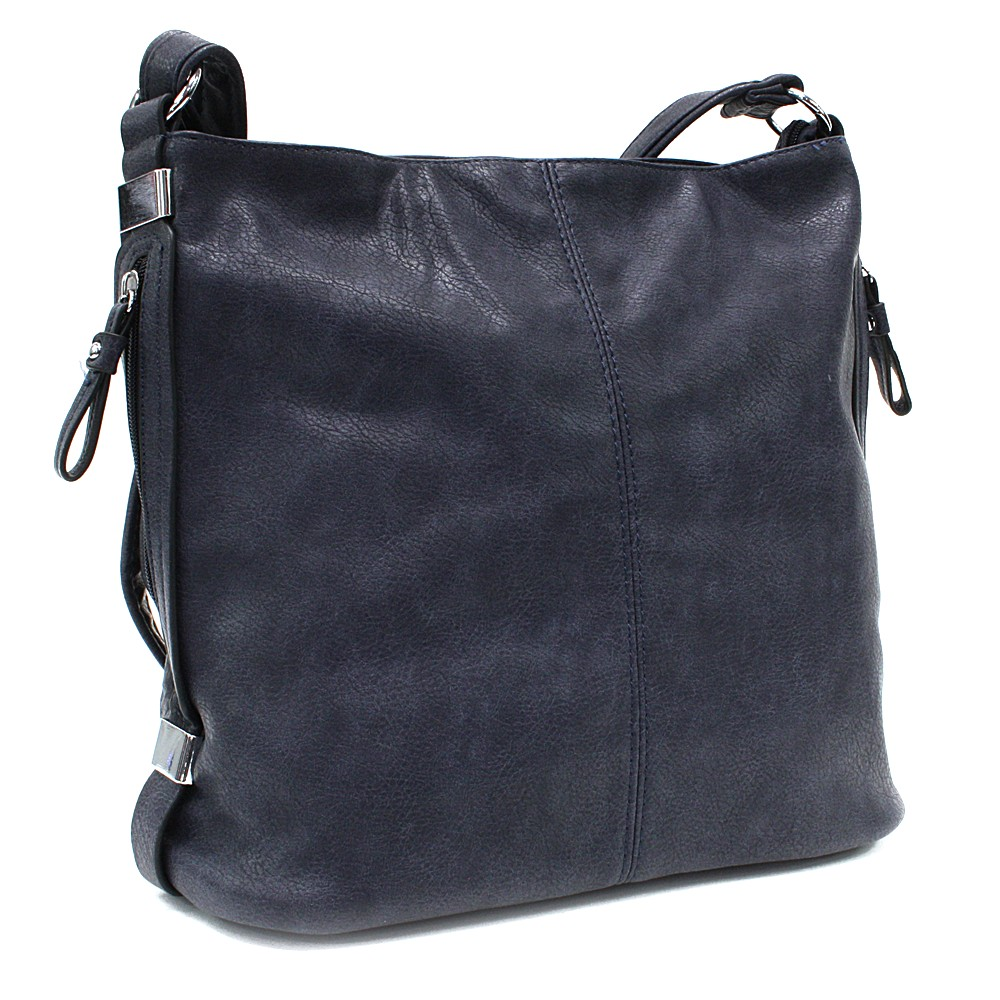 Modrá praktická dámská kabelka Sharnta