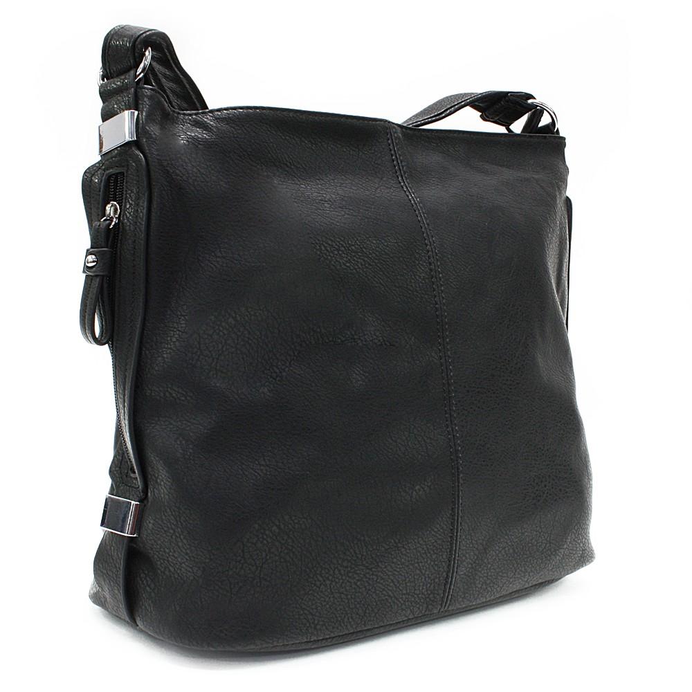 Černá praktická dámská kabelka Sharnta