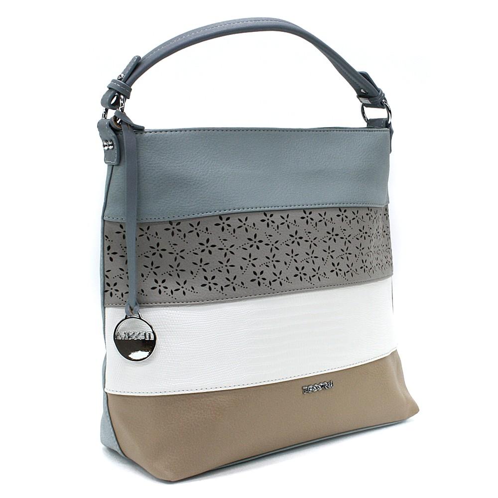 Modrá barevná dámská kabelka na rameno Fayanna