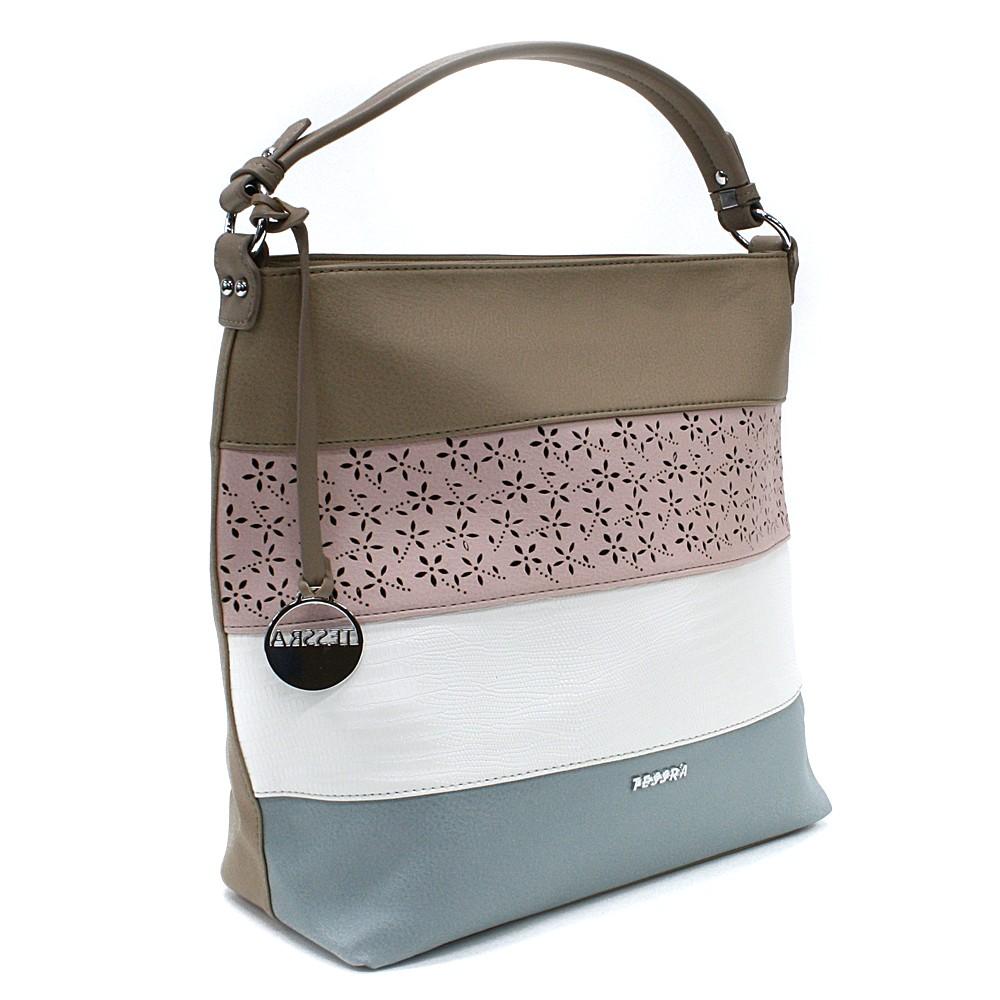 Béžová barevná dámská kabelka na rameno Fayanna