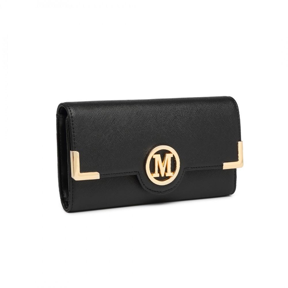 Černá klasická dlouhá dámská peněženka Nayeli