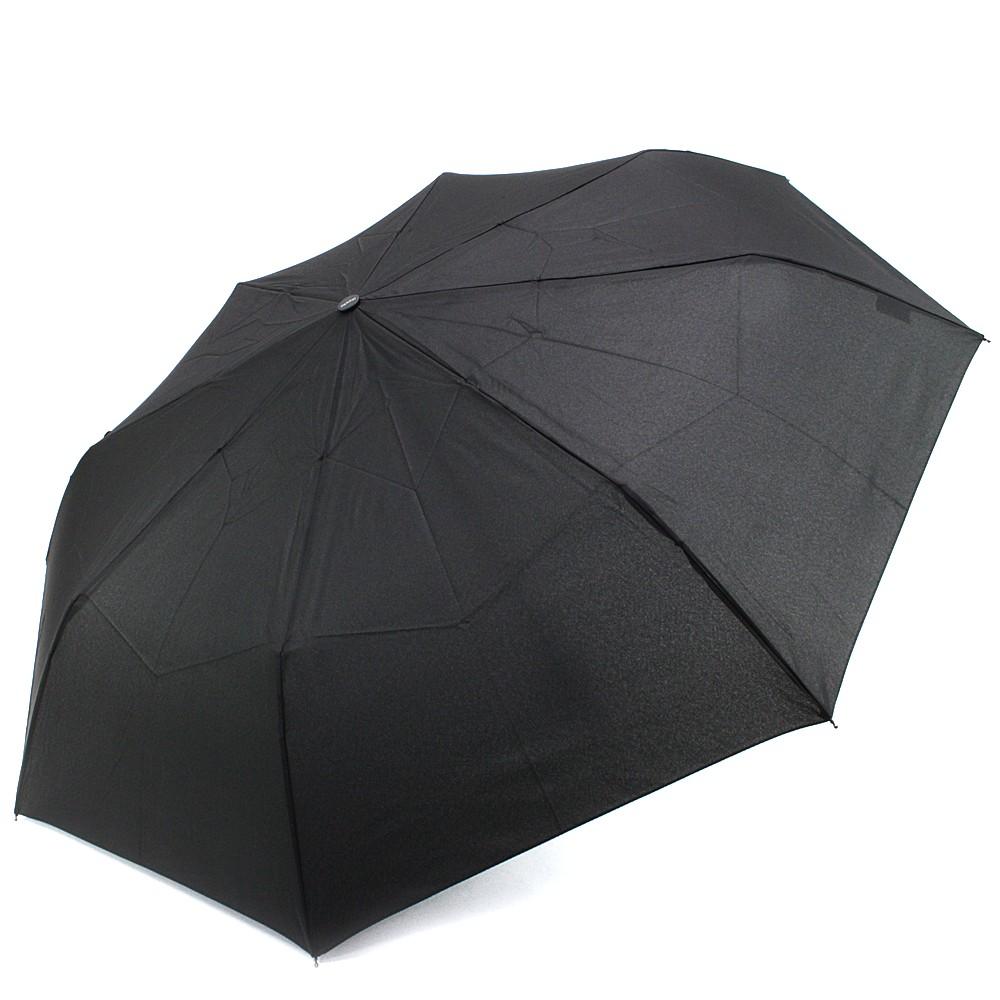 Černý plně automatický skládací pánský deštník Arlen