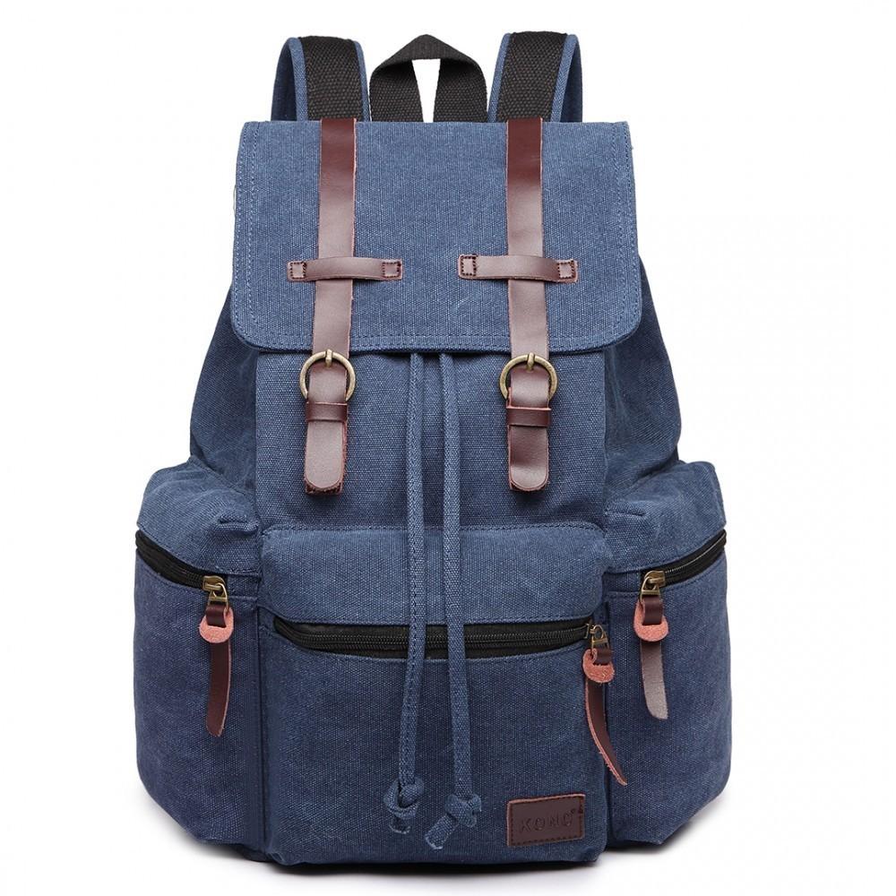 Modrý praktický kvalitní batoh Gotlen