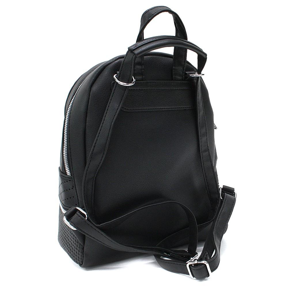 Černý moderní dámský batoh Astyn