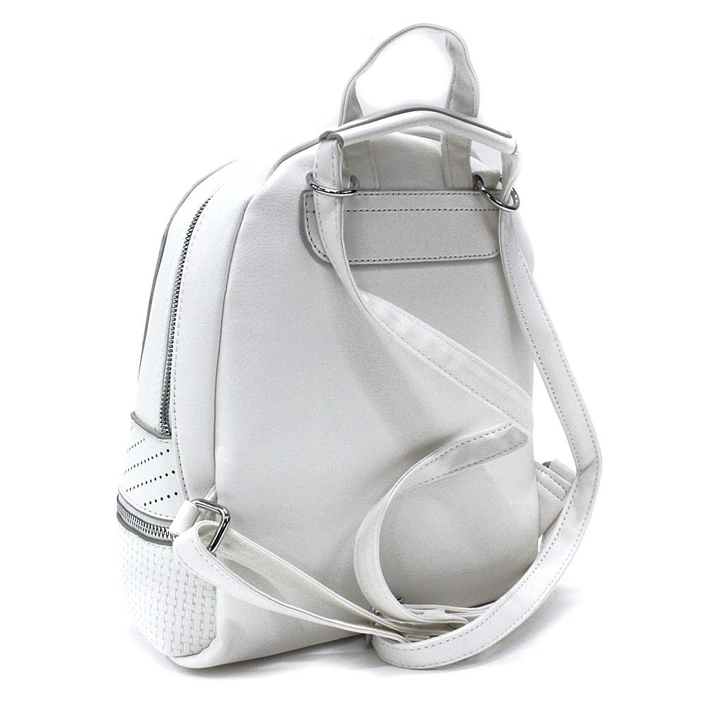 Bílá moderní dámský batoh Astyn