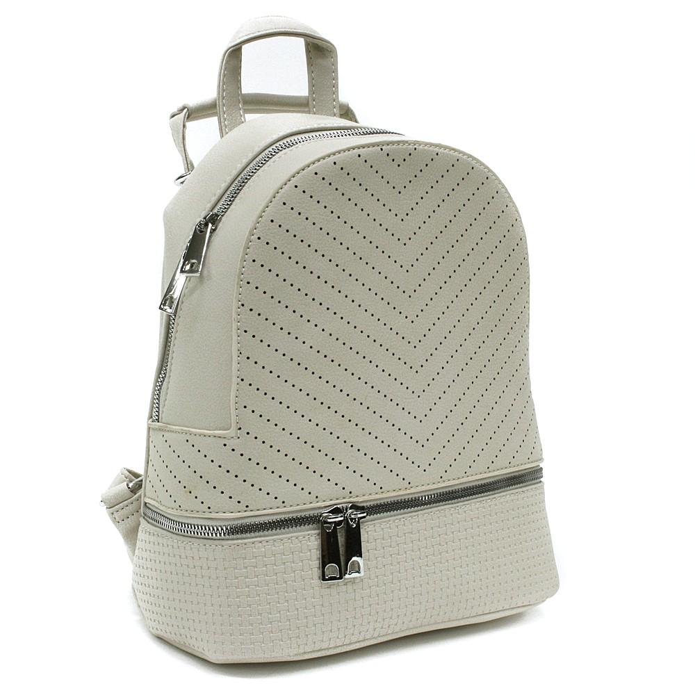 Béžový moderní dámský batoh Astyn