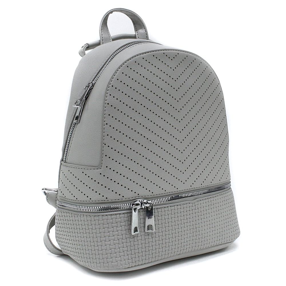 Šedý moderní dámský batoh Astyn