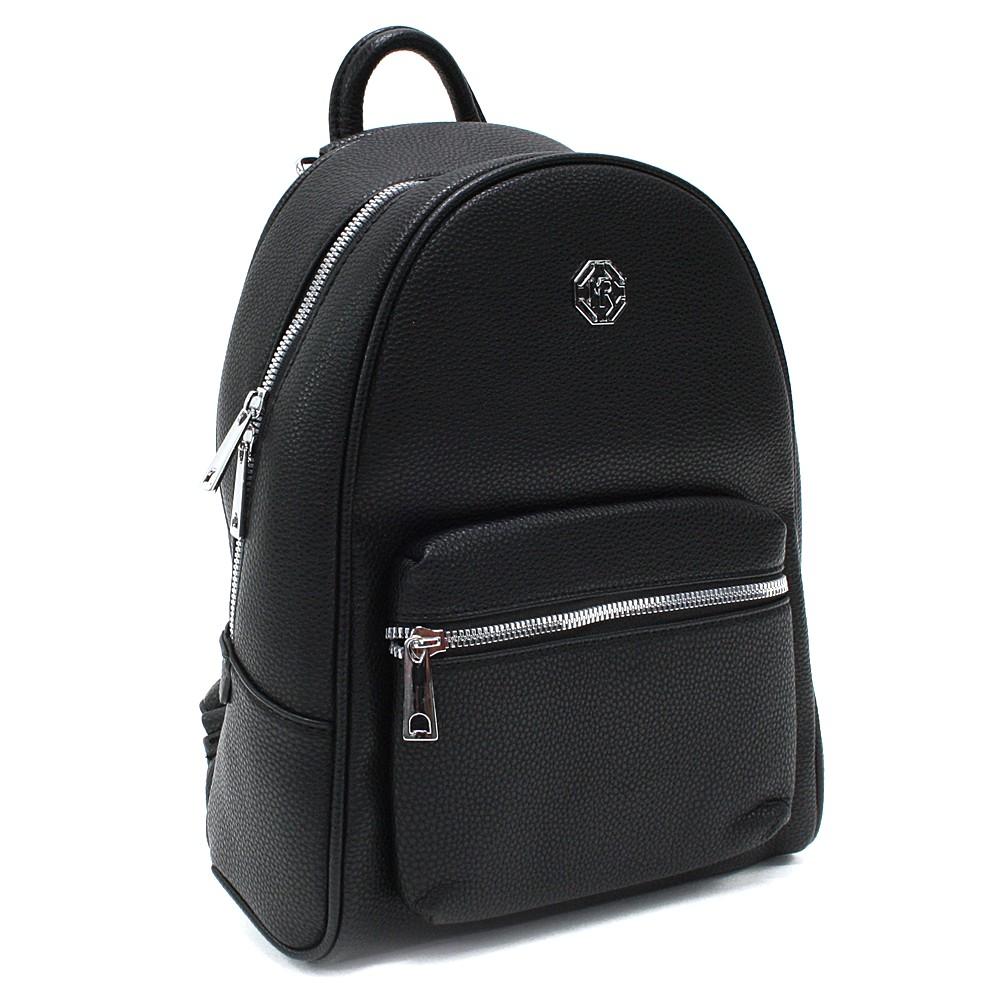 Černý stylový dámský batoh Gianna