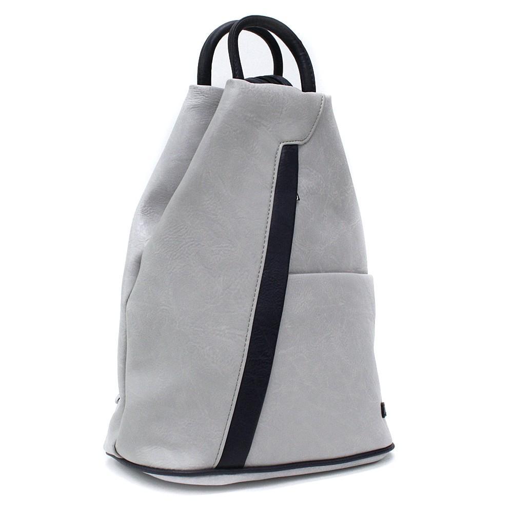 Šedomodrý moderní dámský batoh Kilie