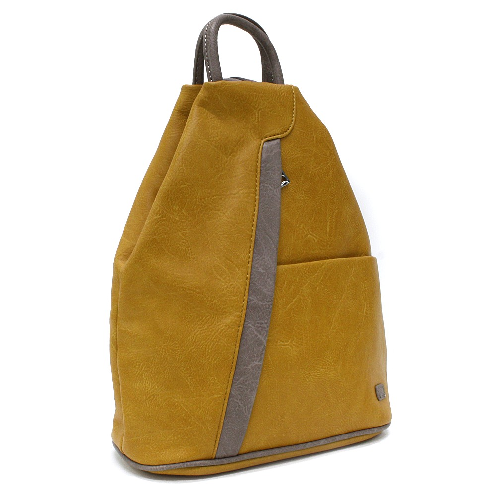 Žlutohnědý moderní dámský batoh Kilie