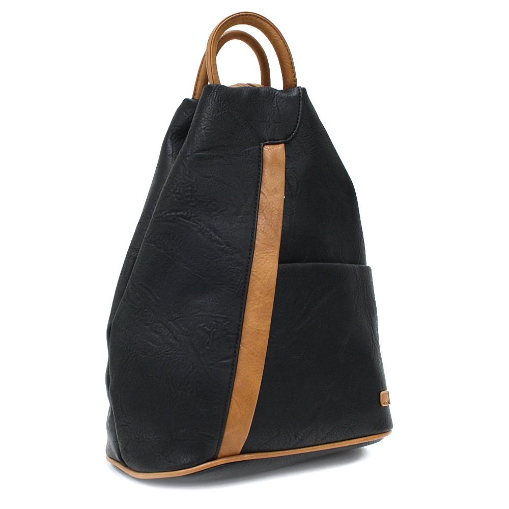 Černohnědý moderní dámský batoh Kilie