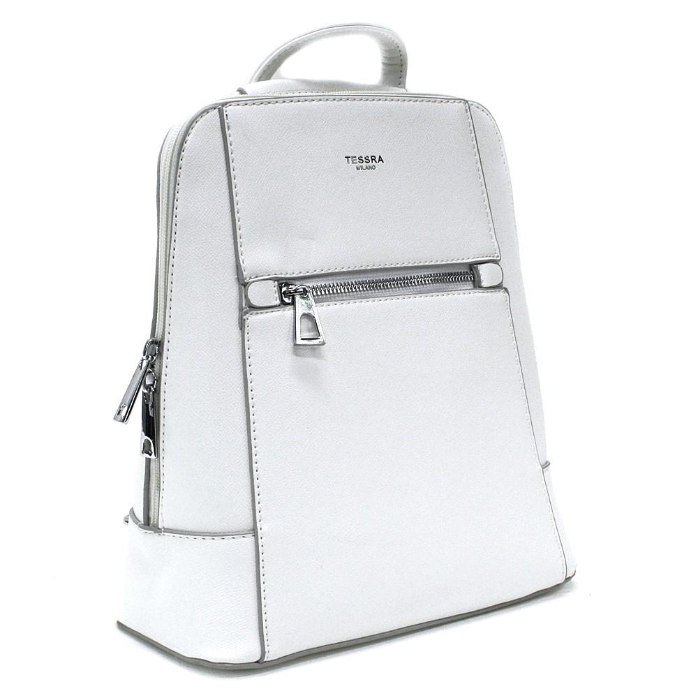 Bílý městský dámský batoh Maritza