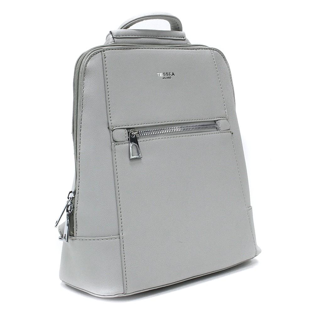 Šedý městský dámský batoh Maritza