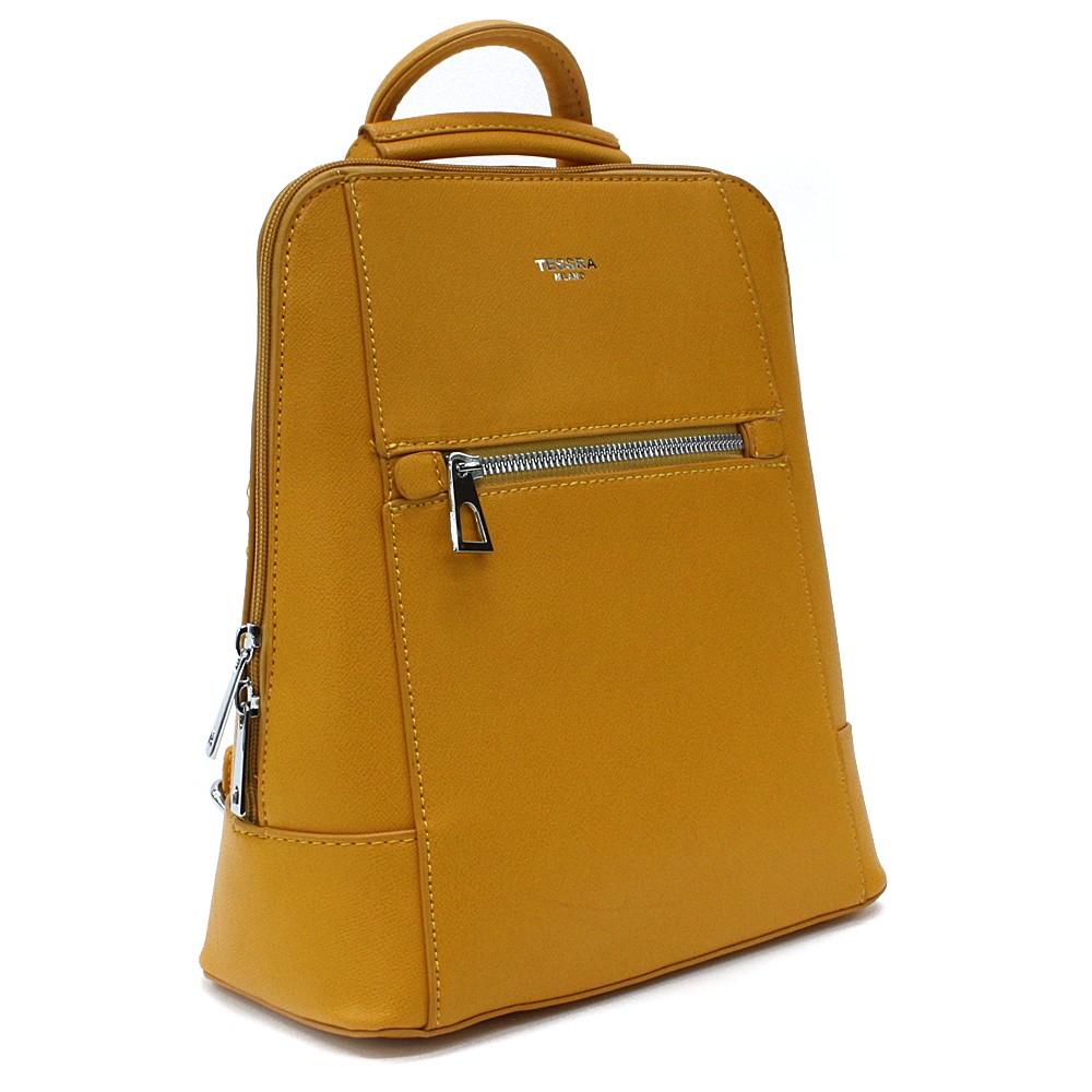 Žlutý městský dámský batoh Maritza