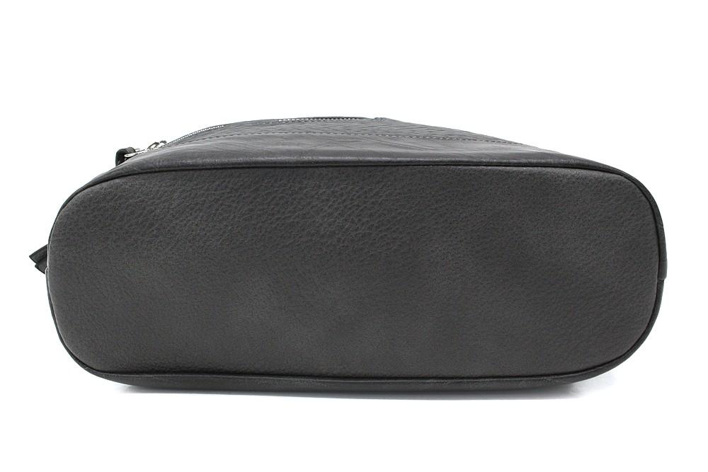 Tmavě šedá dámská crossbody kabelka Mavis