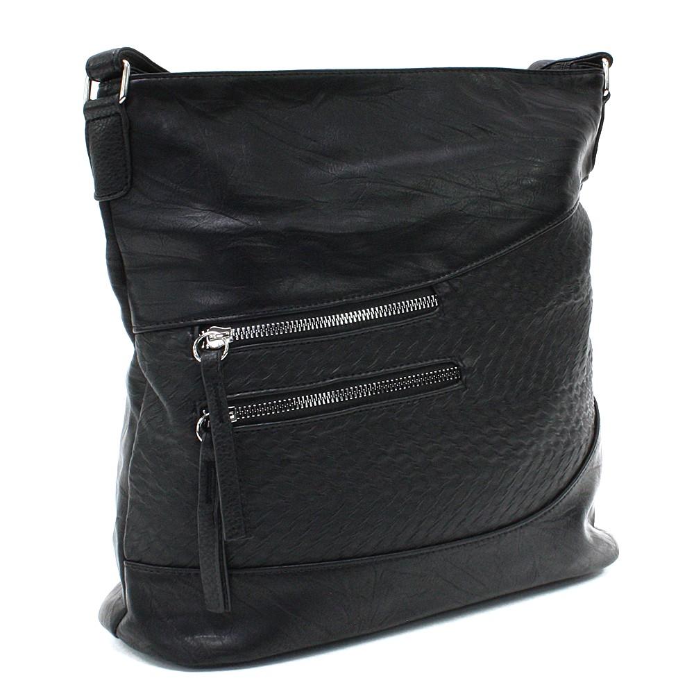 Černá dámská crossbody kabelka Mavis