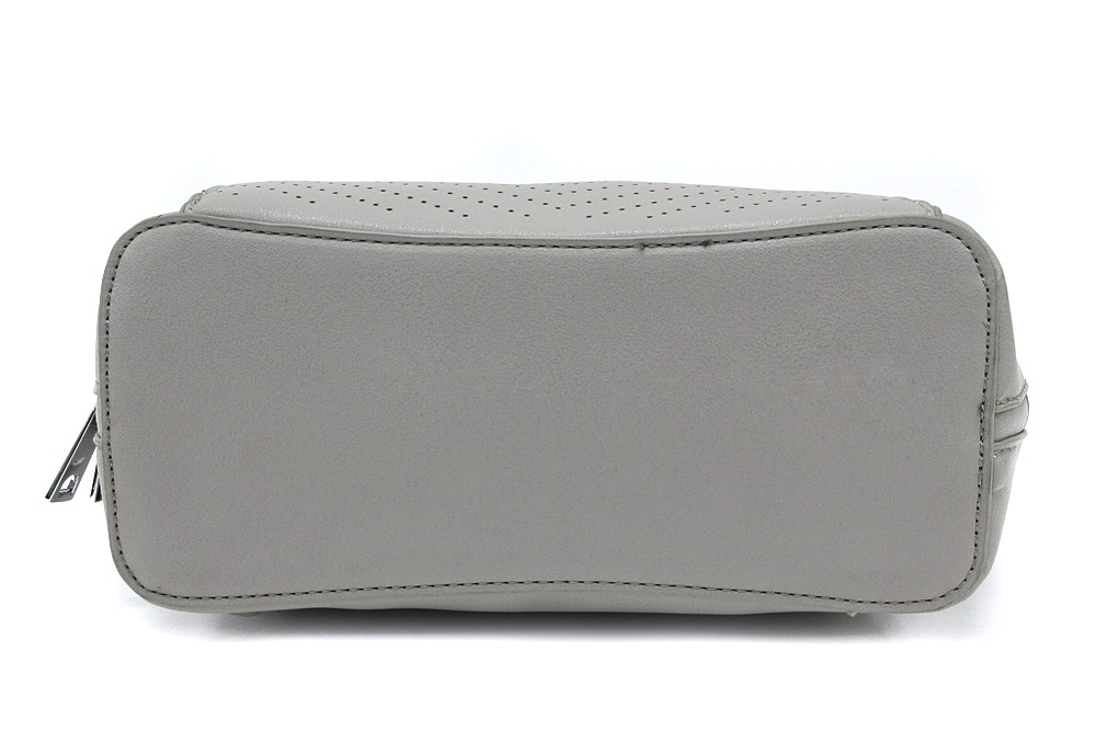 Světle šedý pevný dámský batůžek Yaritza