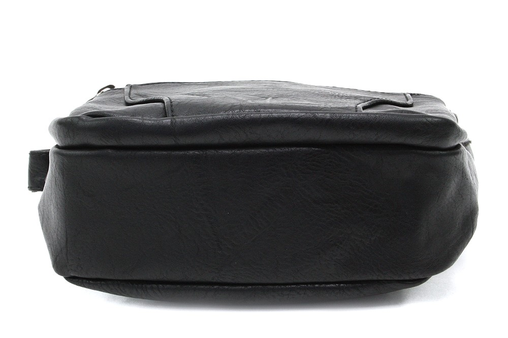 Černá pánská praktická crossbody taška Tyrell