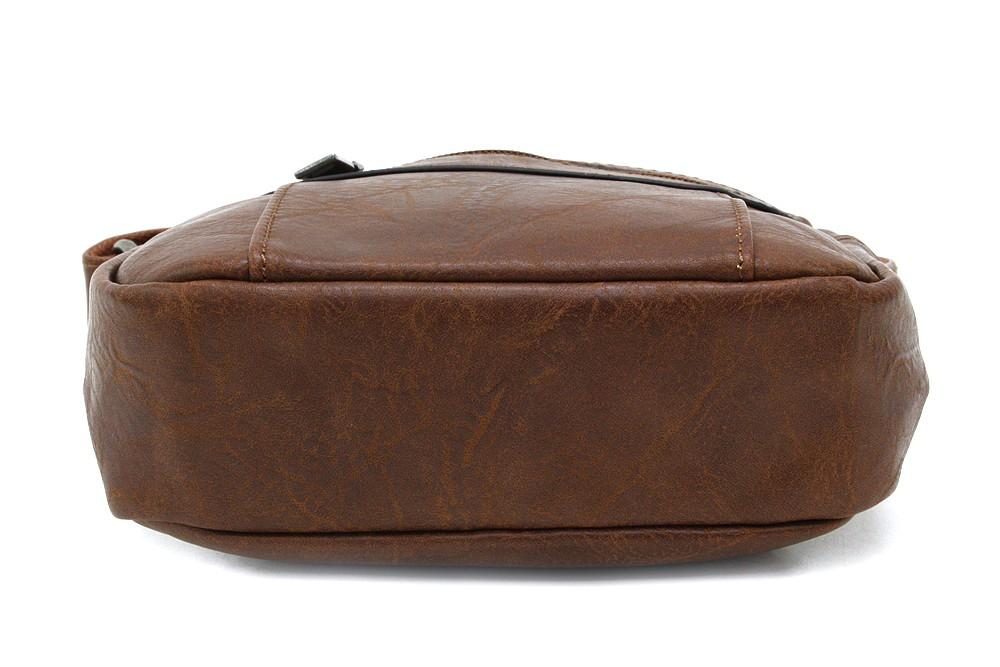 Hnědá pánská praktická crossbody taška Callen