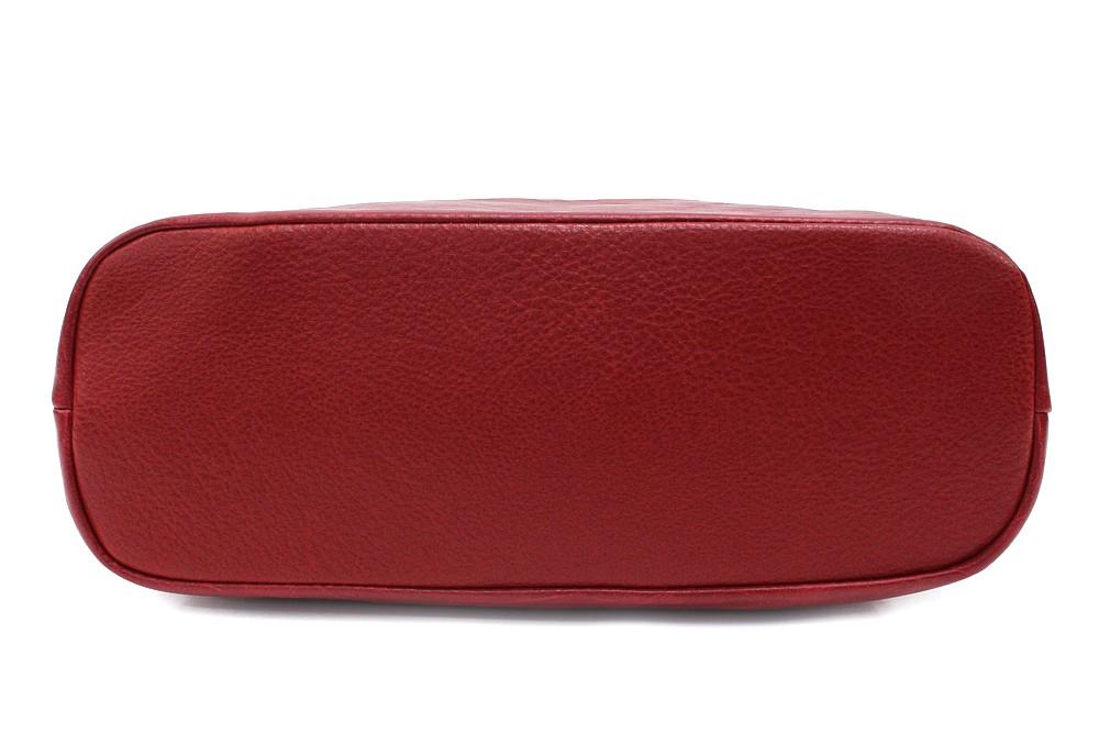 Červená moderní dámská crossbody kabelka Eloisee