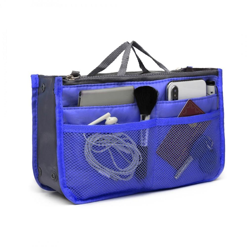 Modrý organizér do kabelky Alana
