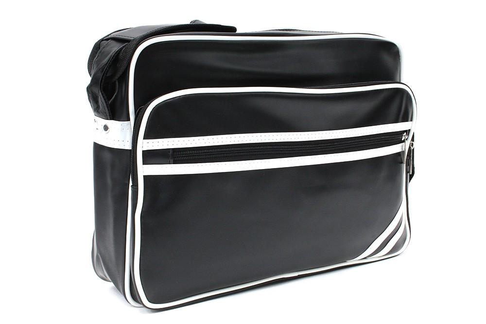 Černobílá kvalitní taška přes rameno Annalise