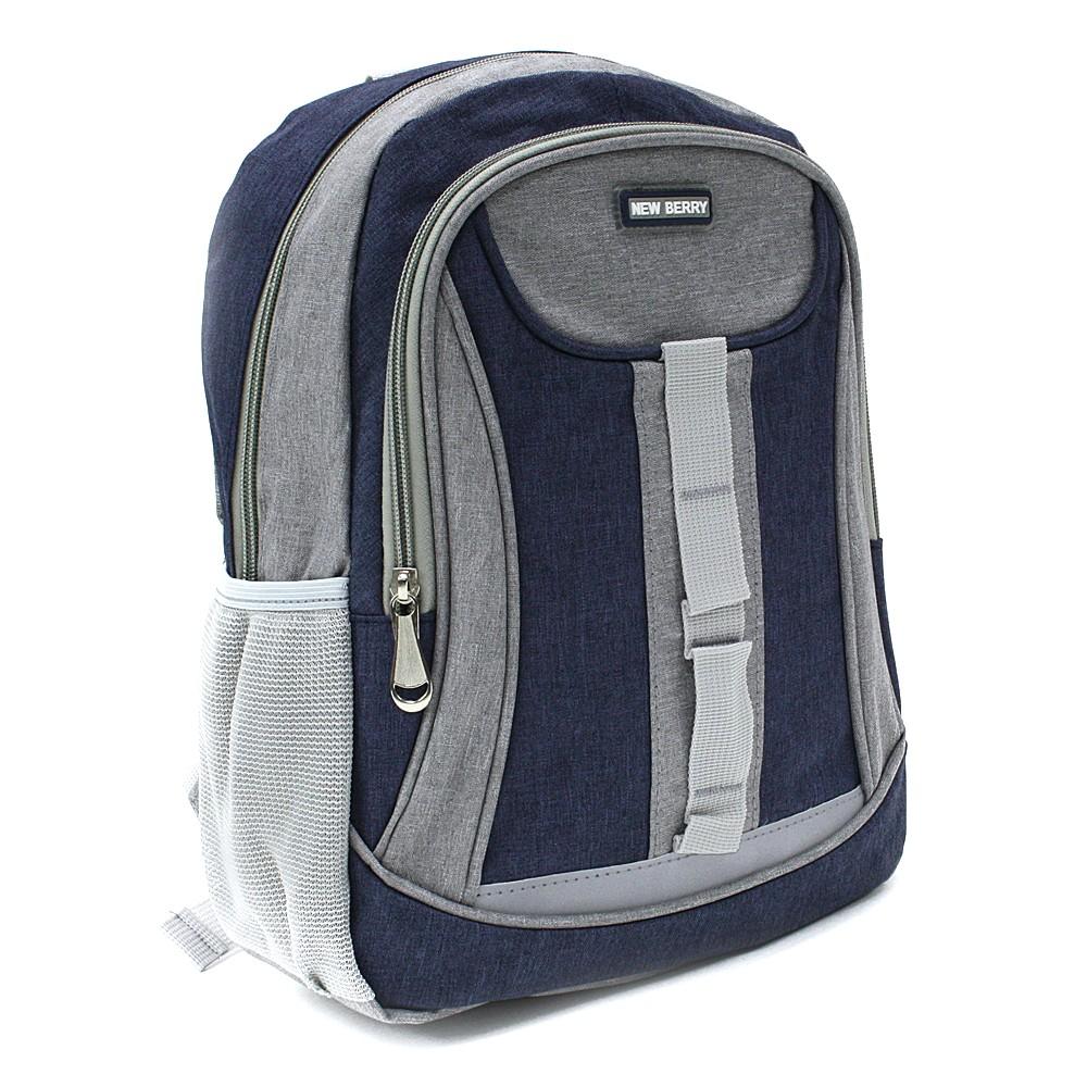 Tmavě modrý dětský sportovní batoh Beckham