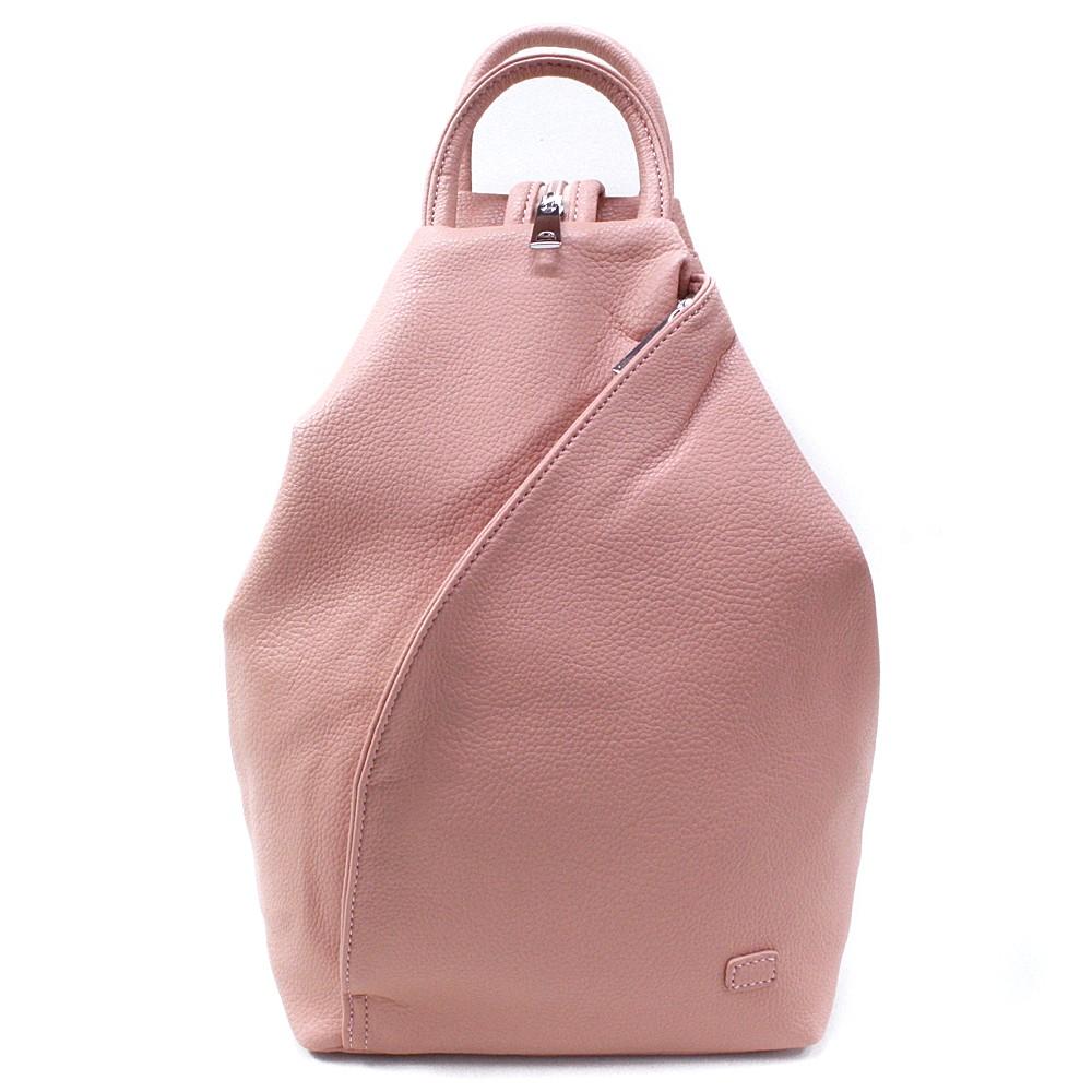 Růžový moderní dámský batoh Zastien