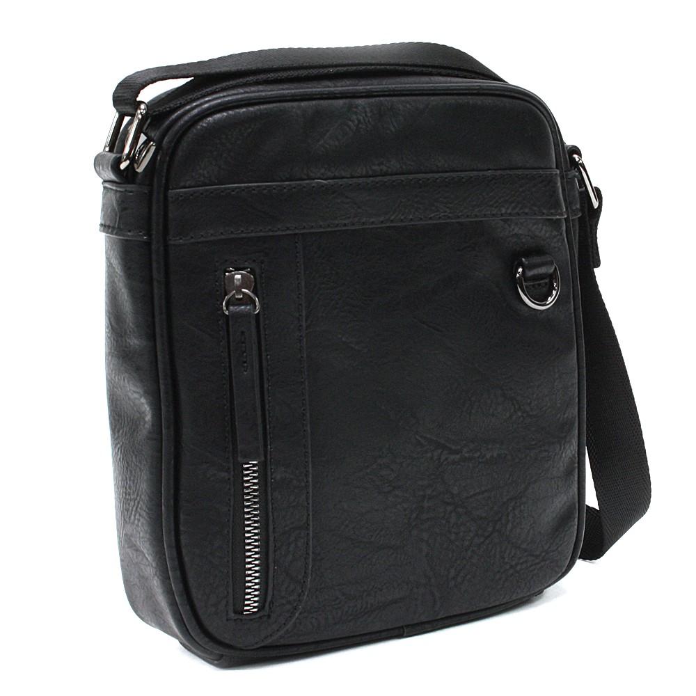 Černá pánská praktická crossbody taška Chappel