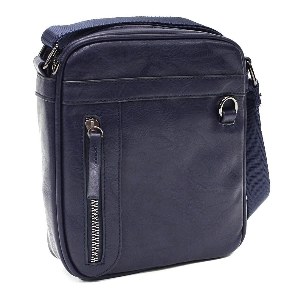 Tmavě modrá pánská praktická crossbody taška Chappel