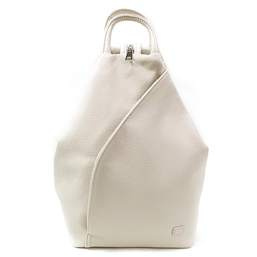 Smetanově bílý moderní dámský batoh Zastien