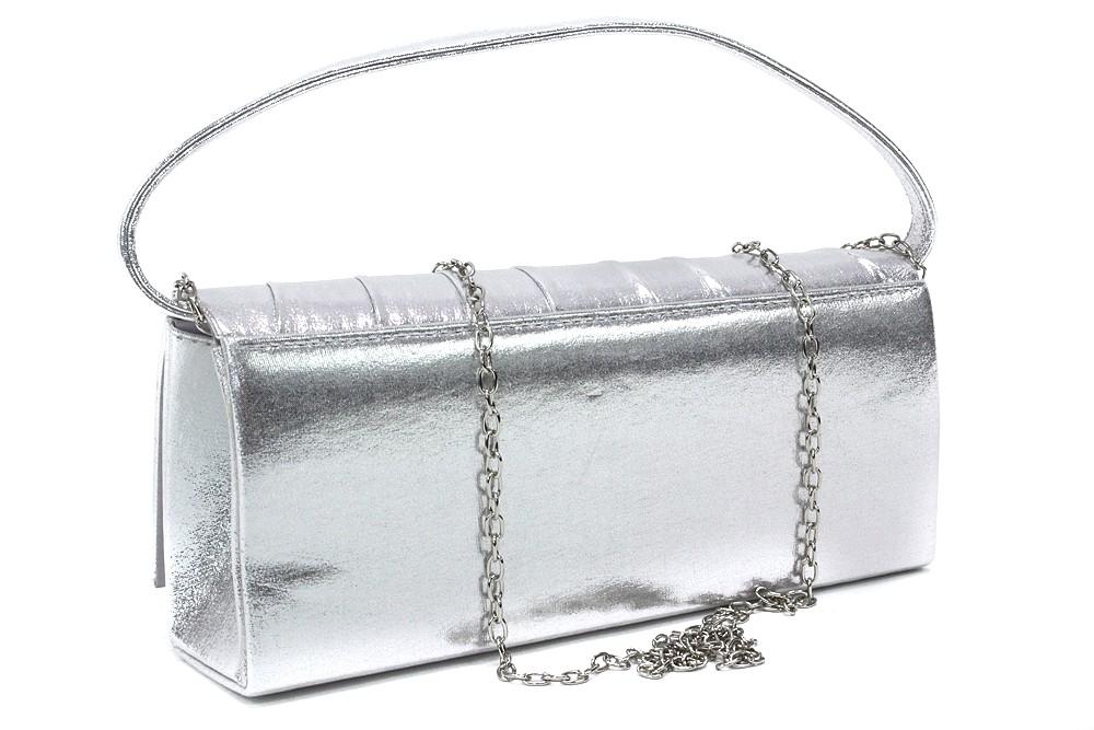 Stříbrné luxusní dámské psaníčko Joella