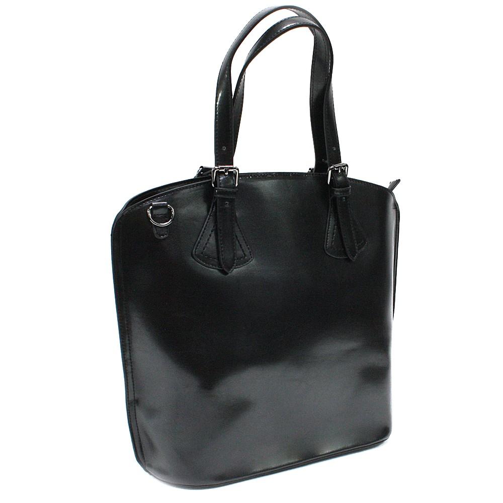 Černá dámská elegantní kabelka Adalicia
