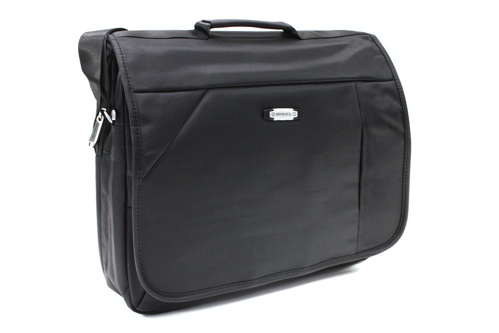 Kvalitní černá pánská taška na notebook Zaiden