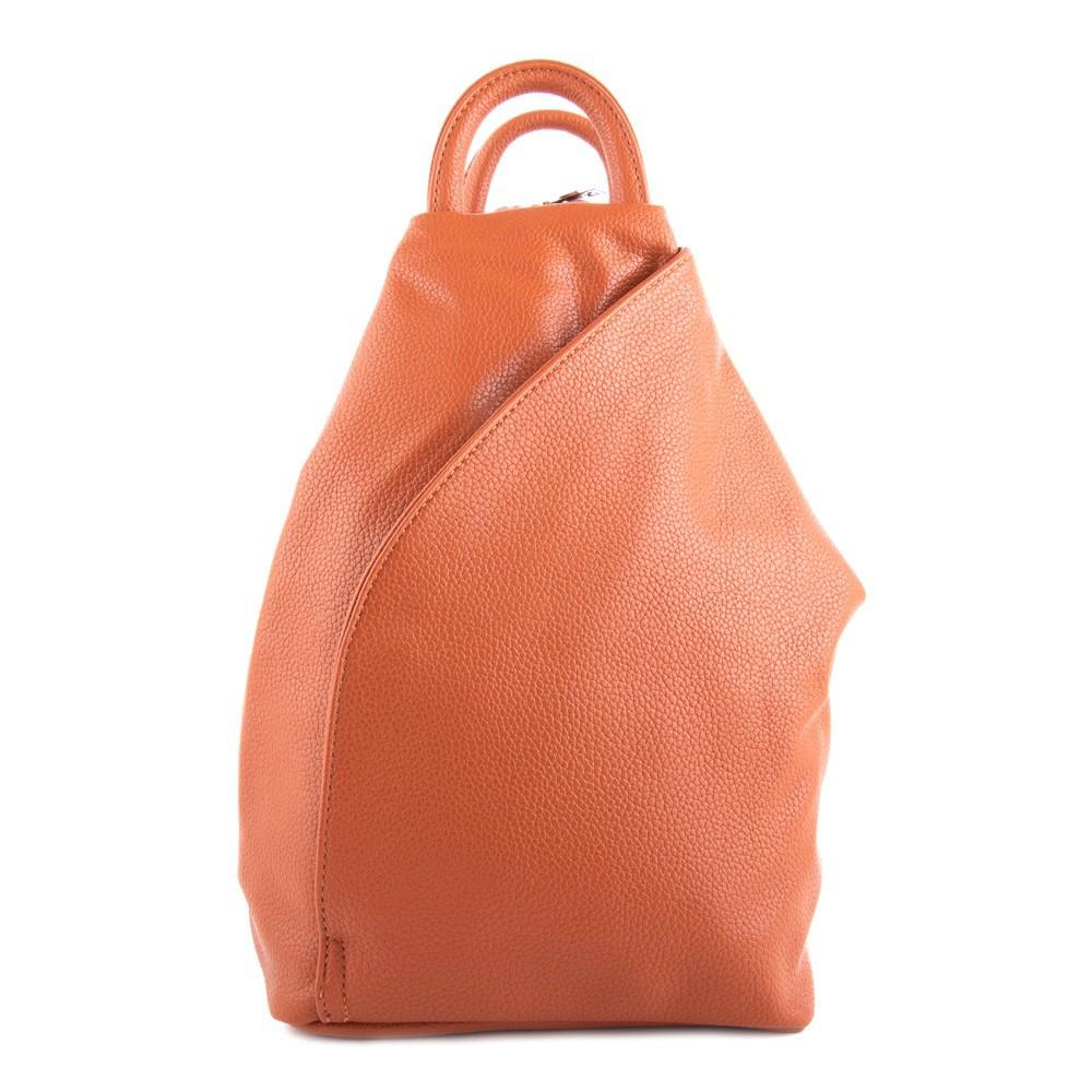 Ostře oranžový moderní dámský batoh Zastien