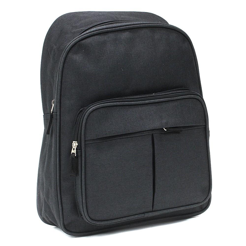 Černý zipový pánský batoh Clarke