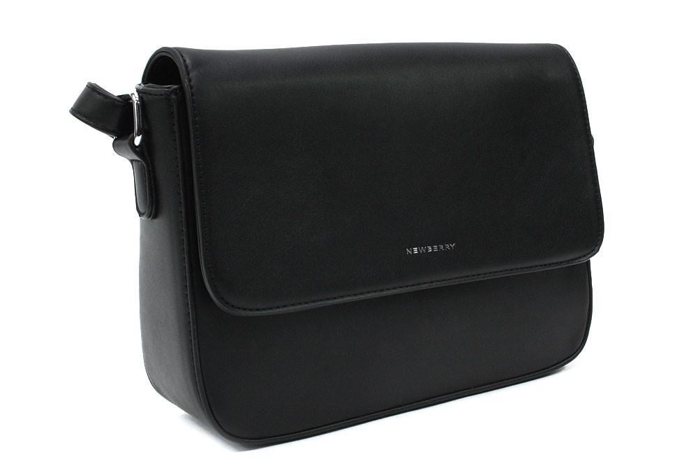 Černá dámská klopnová kabelka Mychelle
