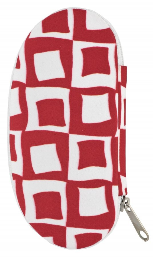 Červenobílá dámská manikúra Orlagh