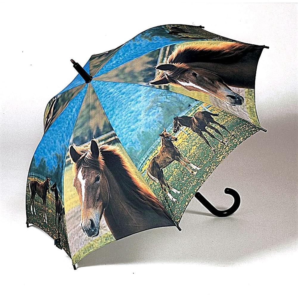 Dětský vystřelovací deštník s motivem koně Caitlin