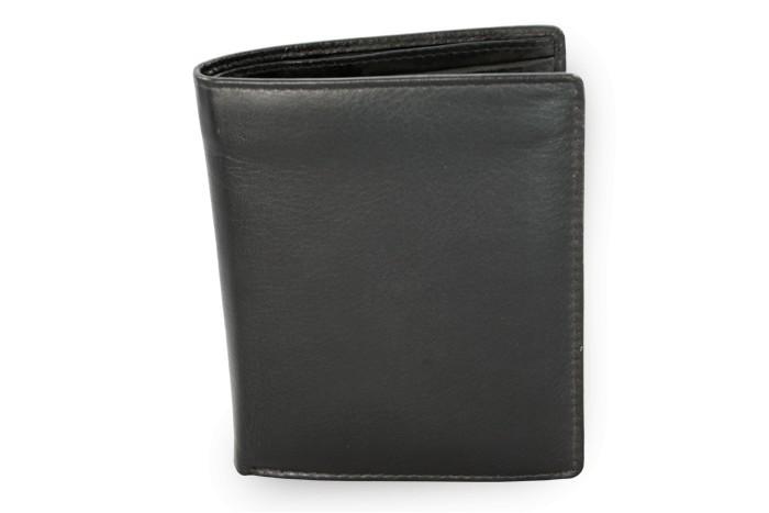 Černá pánská kožená peněženka Connor