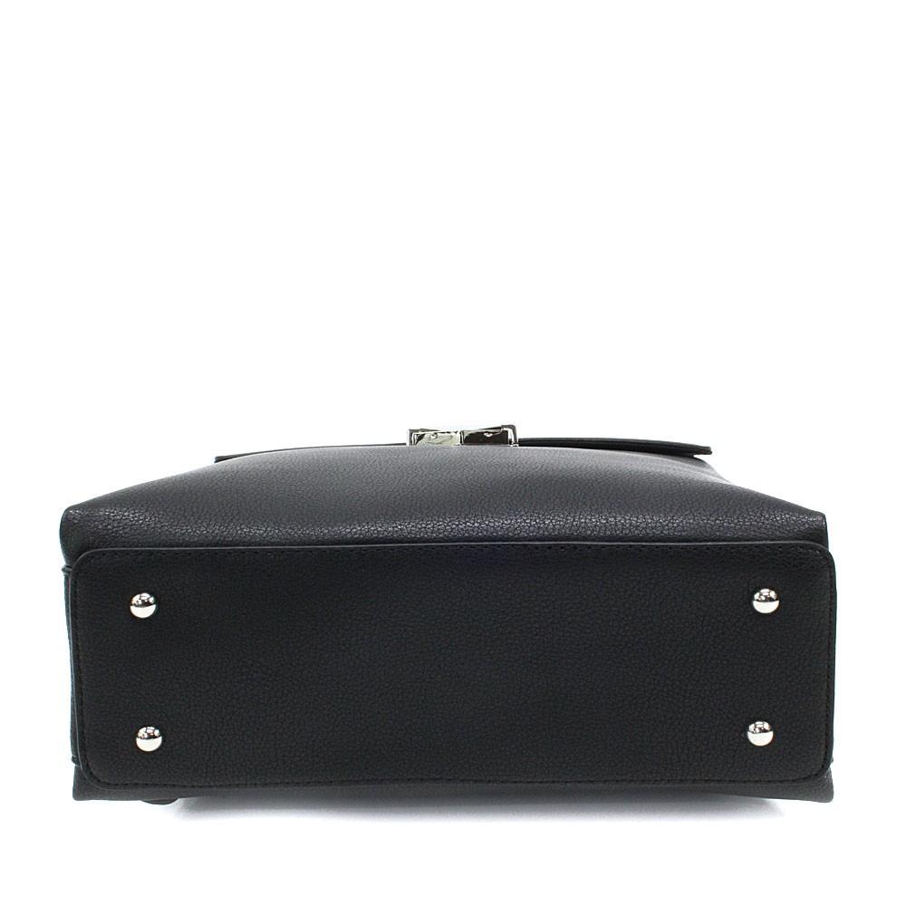 Černý dámský klopnový batoh Vickie