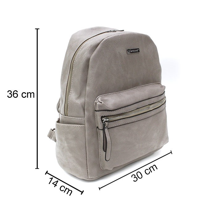 Šedý pánský zipový batoh Beall