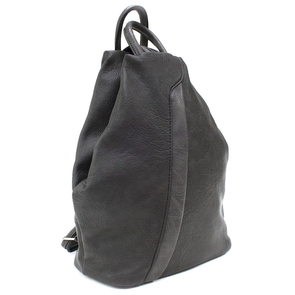 Tmavě šedý moderní dámský batoh Devnet