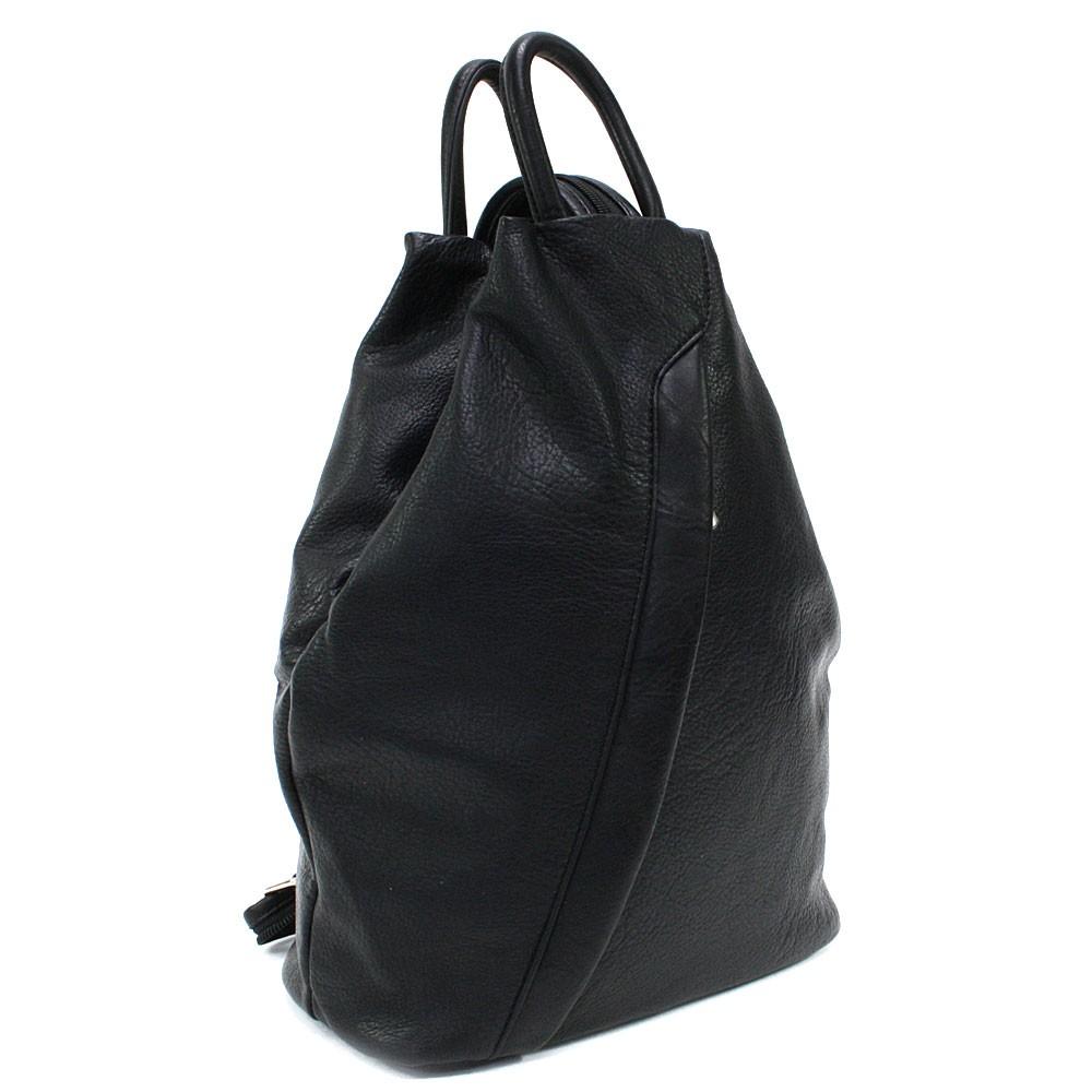 Černý moderní dámský batoh Devnet