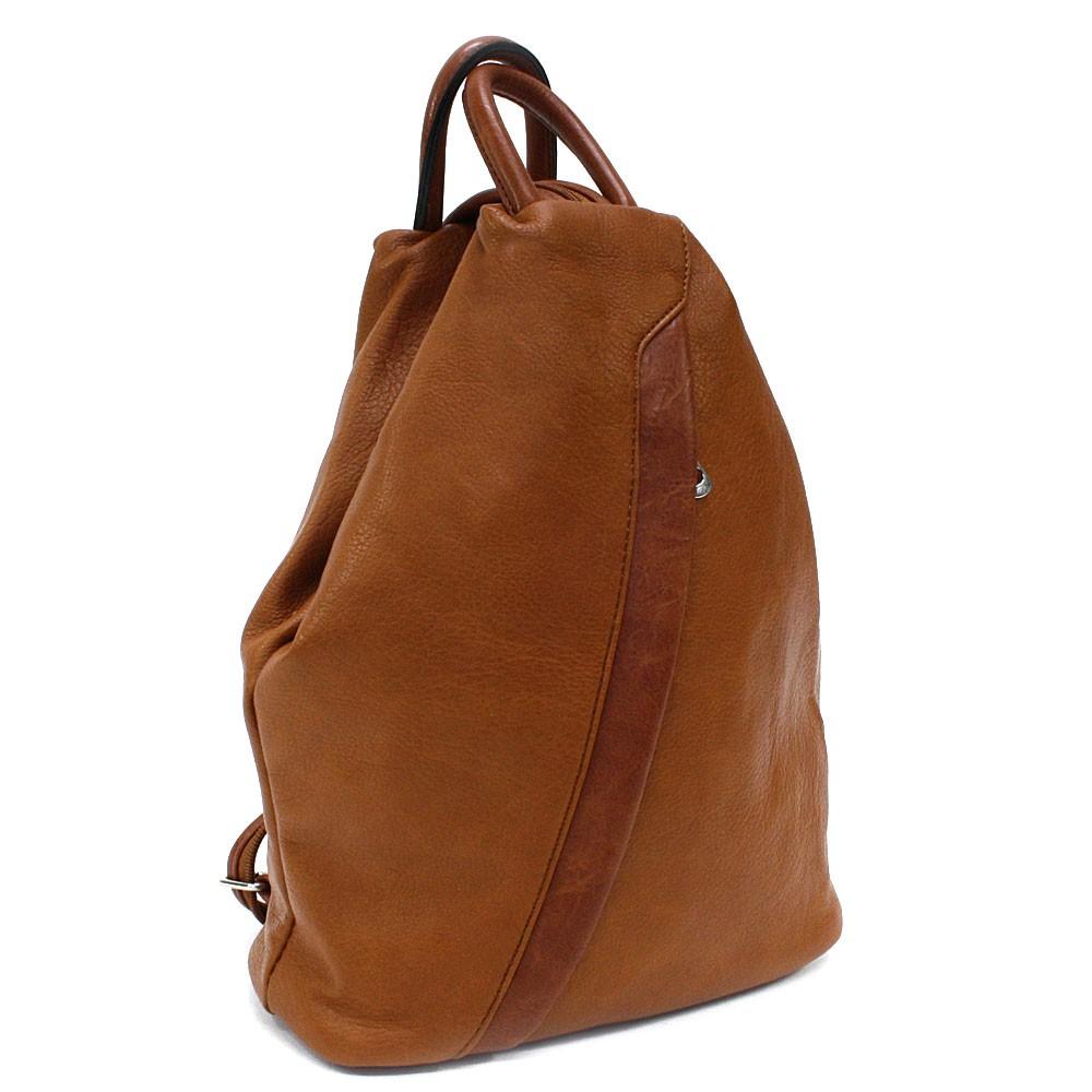 Hnědý moderní dámský batoh Devnet
