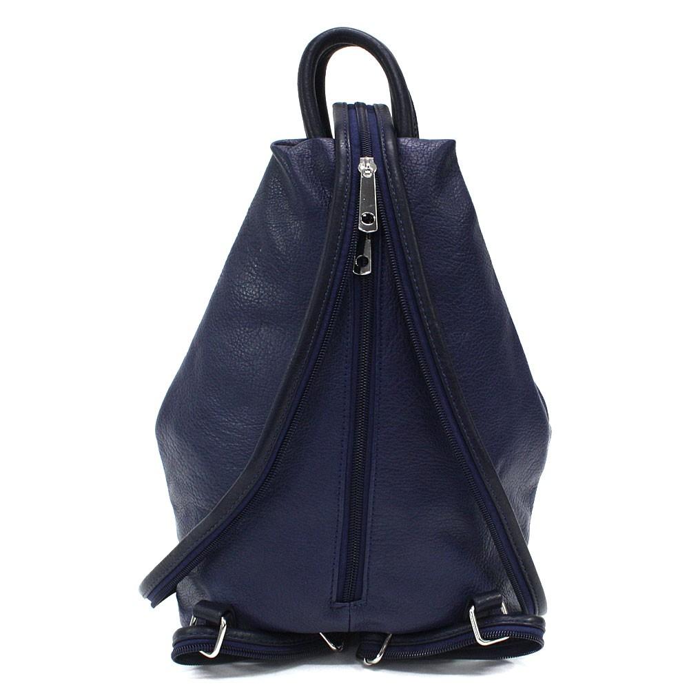 Tmavě modrý moderní dámský batoh Devnet